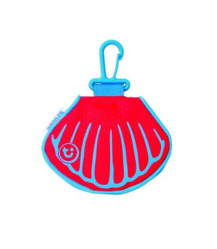 Trunki denarnica PaddlePak Clam Purse rdeča