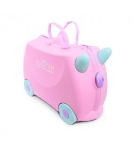 Trunki kovček Rosie rožnata